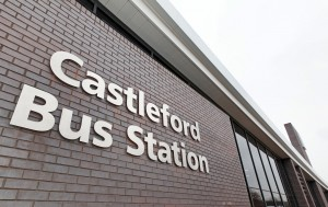 Castleford Bus Station external signage