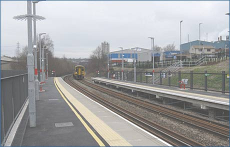 Low Moor Rail Station