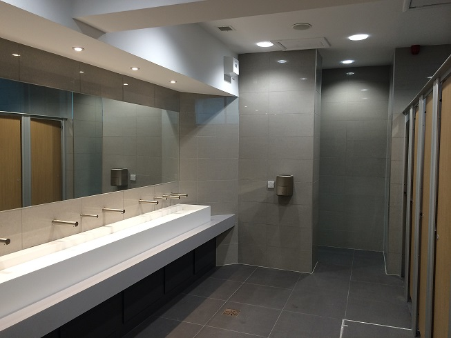 LCBS new toilets